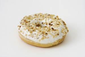 Filled Donut With Nutty Nougat Cream (indent)