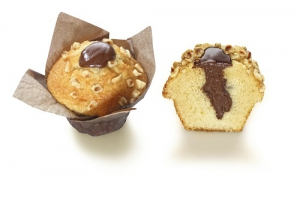 Vanilla Muffin with Cocoa-Hazelnut Filling (indent)