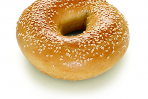 Bagel Sesame (indent)