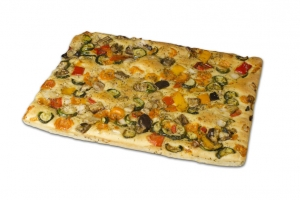 Focaccia Vegetarian 800g