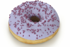 Fruity Berry Donut (indent)