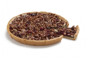 Pecan and Cranberry Pie